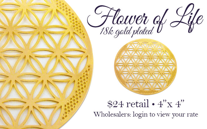 flower of life sacred geometry icon